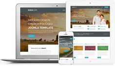Risen Hope Responsive Joomla Modern Church Template