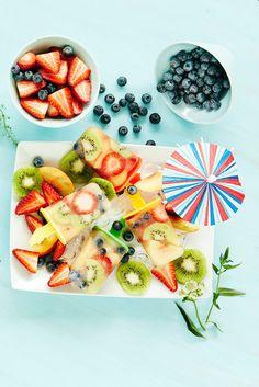 Hedelmä-marjamehujäät | K-ruoka #mehujäätelö #icecream Kokoa kesän herkullisimmat mehujäät mieleisistäsi hedelmistä, marjoista ja mehusta.