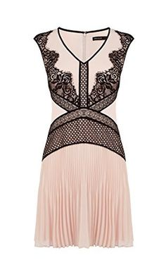 Karen Millen PLACED LACE DRESS