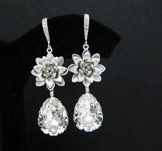 LOVE these tear drop earrings