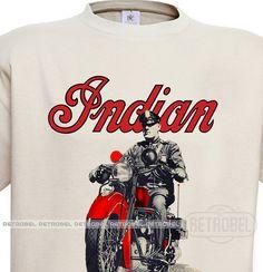 Indian motorcycles men's t-shirt  INDIAN motorcycles by retrobel1