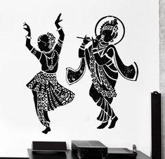 Günstige indische buddha dance hinduismus wandtattoo home decor elefanten ganesh buddhismus indien namaste buddha om yoga wandaufkleber in Günstige indische buddha dance hinduismus wandtattoo home decor elefanten ganesh buddhismus indien namaste buddha om Mandala Art, Krishna Painting, Krishna Art, Lord Krishna, Krishna Tattoo, Ganesh, Dancing Drawings, Modern Art Paintings, Dance Paintings