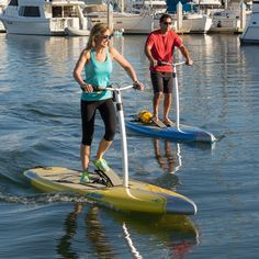 Step on and go! Hobie has changed the rules again with there new Mirage Eclipse pedal drive Stand Up Paddle Board! Hobie Mirage Eclipse 10.5 Pedal Drive SUP