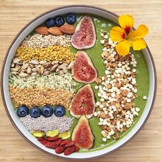 Ginger Matcha Smoothie Bowl — Lee Tilghman