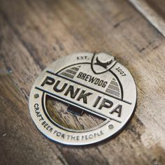 Punk IPA Crest Bottle Opener
