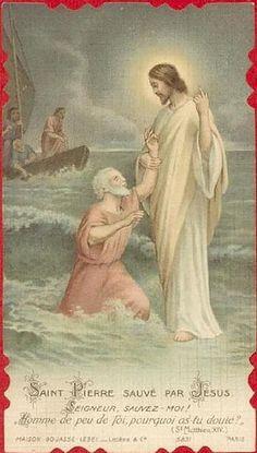 Christ and Saint Peter
