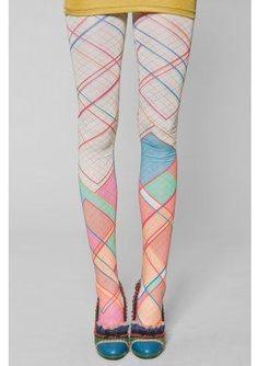 Graph Paper Leggings - Kronkron