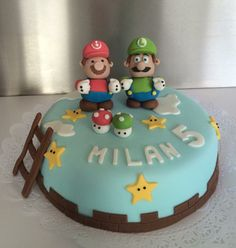 Mario kart taart