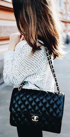 c4946700cc21 Chanel Classic Flap bag   street style fashion  desginerbag  luxury  chanel   chanelbag