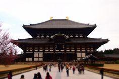 『奈良県が誇る世界最大の木造建築物 大仏殿』が自慢