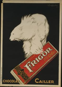 Leonetto Cappiello. Chocolat Frigor. 1929
