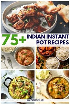 EASY Indian Instant Pot Recipes - Make Indian food the simple way with authentic flavors with these Indian Instant Pot recipes! Try something new this week! Pressure Cooker Chicken Curry, Instant Pot Pressure Cooker, Easy Chicken Korma Recipe, Easy Indian Recipes, Ethnic Recipes, Authentic Indian Recipes, African Recipes, Low Carb Indian Food, Samosa Recipe