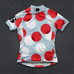The Polka (W) cycling jersey by Twin Six. Tour de France ready.