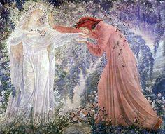 Jean Delville (Belgian, 1867-1953). Dante