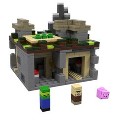 Lego Minecraft Village - Available Sept. 2013