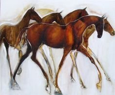 Alison Hale, Artist- I want a print of this (would love to own the original but sadly, although reasonably priced it is not a reasonable indulgence for me at this time)  If I can re-find where I saw the print my LR will be kind of decorated around it.  Horses were such a big part of my life! (I emailed the artist and sadly, there are no prints available).
