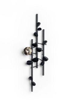 """Galerie Orfèo - Galerie d' Art - Luxembourg - brooch """"Secret Garden"""" by Claude Schmitz"""