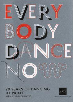 everybody dance now | postcard, 2009