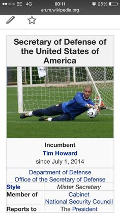 Tim Howard - simply amazing- Best goal keeper I have ever seen!