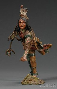 Carl Kauba  1865-1922 Cold Painted Bronze