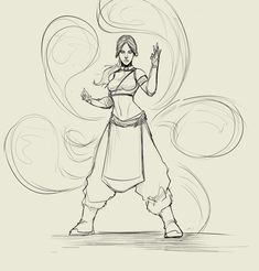 roughs on the katara redraw in my attempt to finish off my og team avatar sketch: got aang sokka . Avatar The Last Airbender Art, Avatar Aang, Drawing Reference Poses, Drawing Poses, Character Drawing, Character Concept, Poses References, Art Drawings Sketches, Character Inspiration