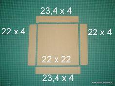 Pour ce premier tutoriel, créez une boîte en carton avec couvercle, à décorer selon vos envies ! Dans cette première partie nous verrons : le matériel, la construction de la boîte et du couvercle.
