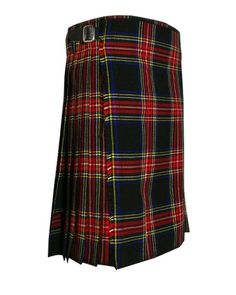 This #Tartan #kilt is made with quality polyviscose #tartan material. #Tartan Traditional 8 Yard #Scottish #Kilt gives you amazing quality plus a lifetime warranty on all the metal hardware! You won't find a good #kilt for this cheap anywhere else. It's a great investment for your #Scottish clothes and accessories collection. Kilts For Sale, Stewart Tartan, Tartan Kilt, Scottish Kilts, Men In Kilts, Tartan Material, Custom Made, Traditional, Mens Fashion