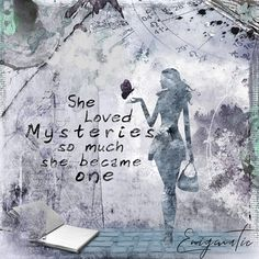 Altered Art, Digital Scrapbooking, Overlays, Love Her, Mystery, Index, Php, Art Journaling, Mixed Media