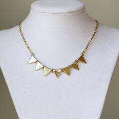 Party Pendant Gold Necklace