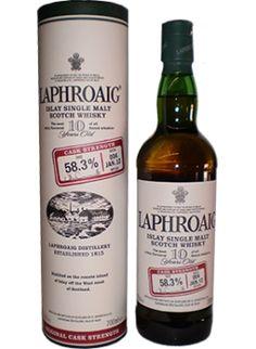 Laphroaig Cask Strength 10YO Single Malt Scotch Whisky