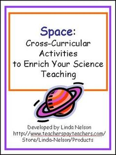 Cross-curricular space activities for grades 2-3