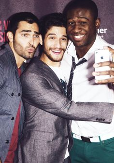 tyler hoechlin, tyler posey, and sinqua walls