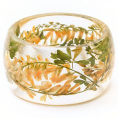 Fab.com | Clover Bangle. This would be neat if you could make one out of your wedding bouquet!