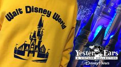 The YesterEars Collection is returning to the Disney Parks online store from October 20-27, 2016. These limited release apparel items were inspired by classic Walt Disney World Resort attractions, locations, and celebrations. You may recall reading