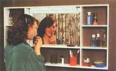 Shelf for bathroom with their hands