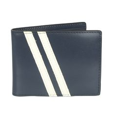 Roadster Wallet in Navy. On sale for $38.