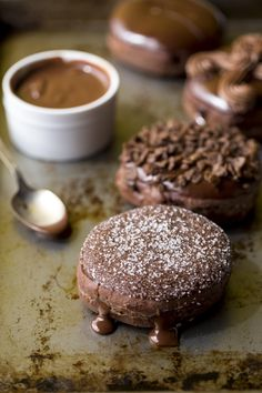 [Pro/Chef] Decadent chocolate-filled chocolate donuts!