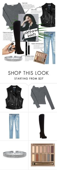 """""""Platform boots"""" by vivistyle21 ❤ liked on Polyvore featuring Mulberry, Balenciaga, True Religion, Dune, Bling Jewelry and Urban Decay"""