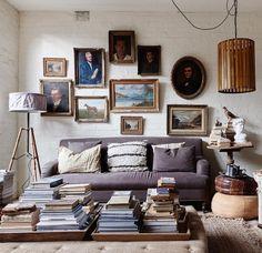 Top Ten Australian Homes of 2015 · Lynda Gardener and Mark Smith - The Design Files Cosy Interior, Interior And Exterior, Interior Decorating, Living Area, Living Spaces, Living Room, Cozy Living, Melbourne, Style Loft