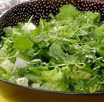 Watercress Salad with Lime Dressing Recipe : Rachael Ray : Food Network Healthy Low Calorie Meals, Healthy Eating Recipes, Healthy Dishes, Eat Healthy, Tasty Dishes, Healthy Snacks, Watercress Salad, Avocado Salad, Patti Labelle Recipes