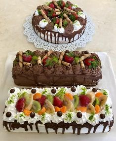 Fashion and Lifestyle Food N, Food And Drink, Cake Hacks, Turkish Recipes, Recipes From Heaven, I Love Food, Cake Decorating, Bakery, Sweets