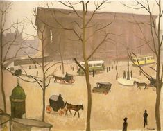 La Madeleine, janvier 1917 © Albert Marquet