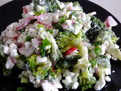 Smak Zdrowia: Sałatka brokułowa z serkiem wiejskim