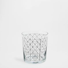 GEOMETRIC GLASS TUMBLER - Glassware - Glassware - Tableware | Zara Home United States