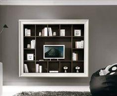 logic 530 living room with tv stand panel - arredaclick | 6b ... - Parete Attrezzata Per Tv Logic 530