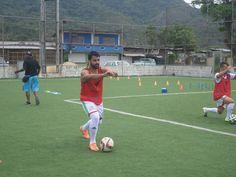 Jugador de Atlético Los Andes previo al juego
