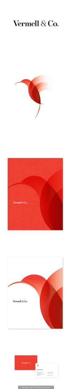 Vermell & Co. Corporate Branding logo inspiration  Logo
