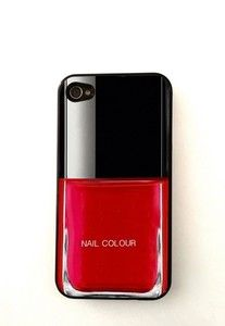 Nail color iphone 4 case iphone 4s case iphone cover