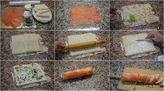 Rollitos de Canapés con Pan de Molde. 3 Recetas fáciles y Rápidas.