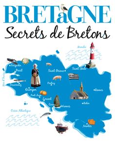 Bretagne - Secrets de Bretons #Livre #Voyage #Bretagne